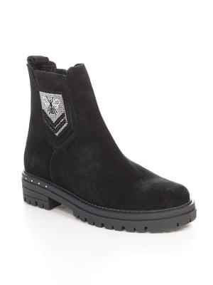 Ботинки черные   4547801