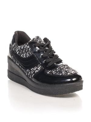 Кросівки чорні | 4603104