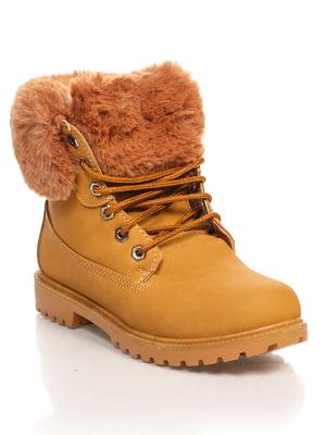 Ботинки коричневые   4603040