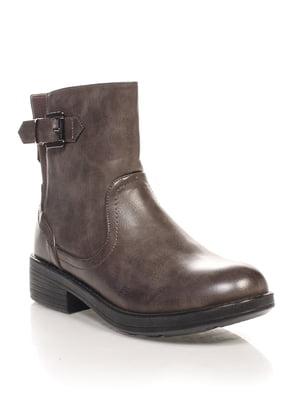 Ботинки темно-бежевые | 4602996