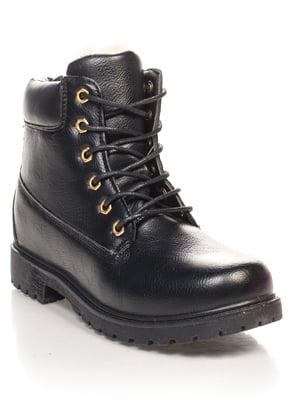 Ботинки черные | 4603015