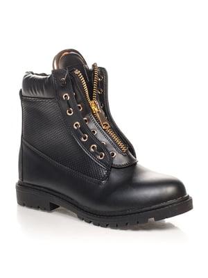 Ботинки черные   4603047