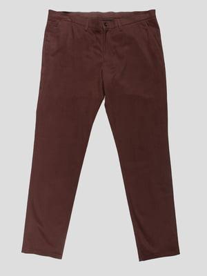 Брюки коричневые | 4495502