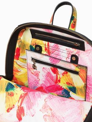 Рюкзак разноцветный в принт | 4599872