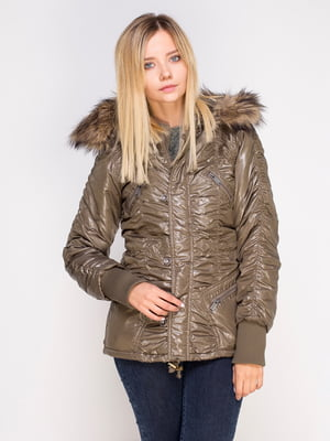 Куртка цвета хаки   4506990