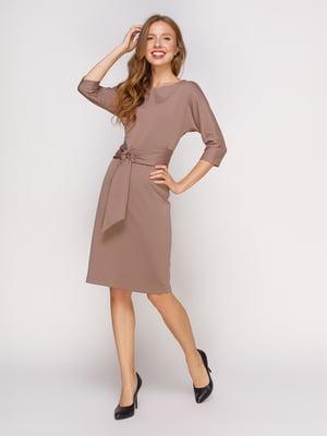 Сукня кольору капучино | 4588151
