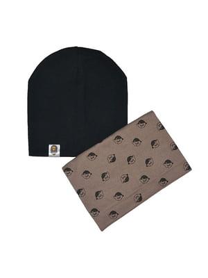 Комплект: шапка и шарф-снуд | 4607114