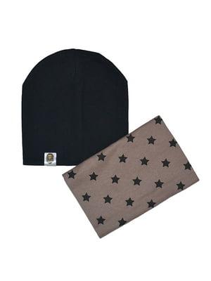 Комплект: шапка і шарф-снуд | 4607115