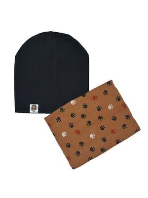 Комплект: шапка и шарф-снуд   4607119