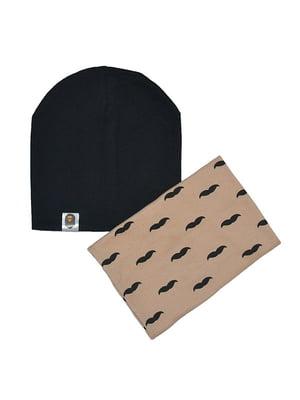 Комплект: шапка и шарф-снуд   4607121
