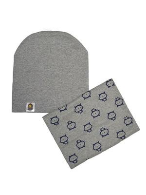 Комплект: шапка і шарф-снуд | 4607148
