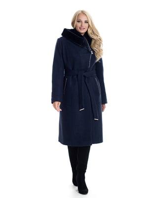 Пальто темно-синє   4609894