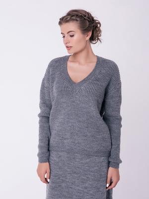 Пуловер серый | 4519946