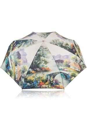 Зонт механический компактный облегченный | 4613036