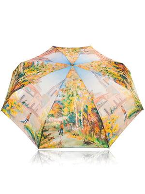 Зонт механический компактный облегченный | 4613040