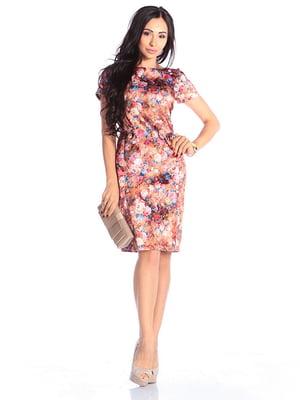 Платье в принт   4610405