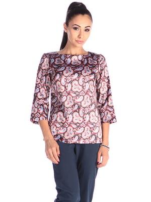 Блуза в принт | 4610419