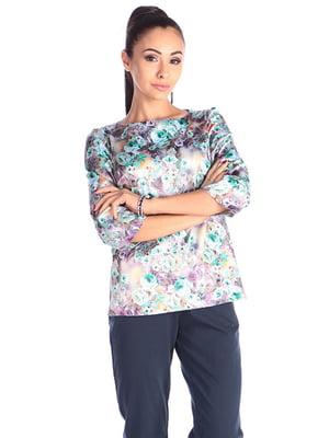 Блуза в принт | 4610421
