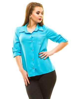 Рубашка голубая   3315376