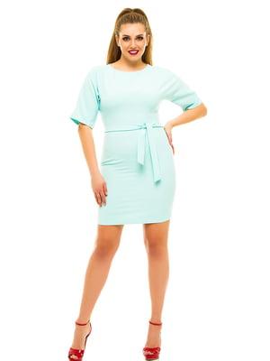 Платье мятного цвета | 3315390