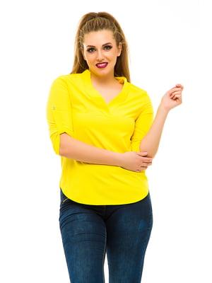 Блуза желтая | 3315398