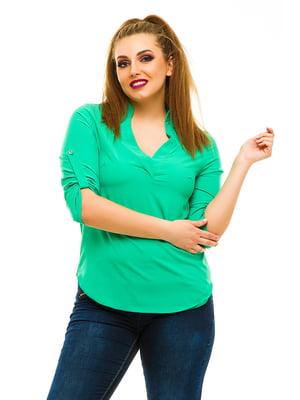 Блуза зелена | 3315402