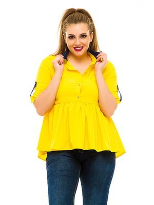 Блуза желтая | 3315410