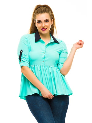 Блуза мятного цвета   3315411