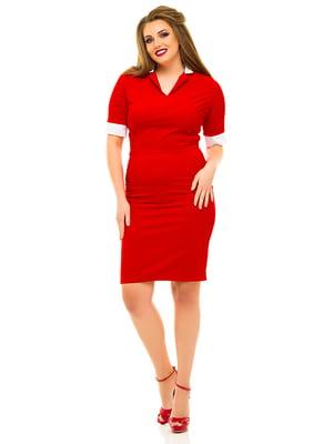 Платье красное | 3315413