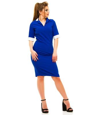 Платье цвета электрик | 3315415