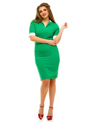 Платье зеленое | 3315418