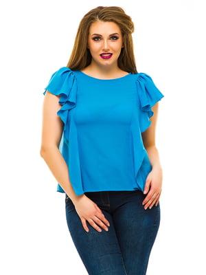 Блуза голубая | 3315439