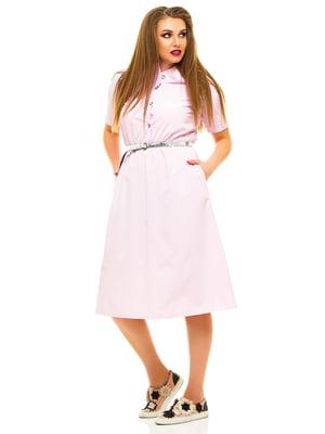 Сукня рожева у смужку | 3315459