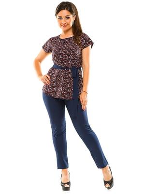 Костюм: блуза і штани | 3470124