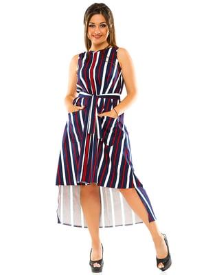 Платье в полоску   3470130