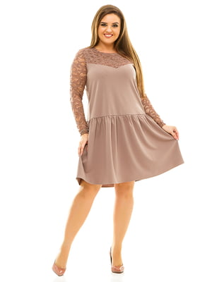 Сукня бежева | 3701529