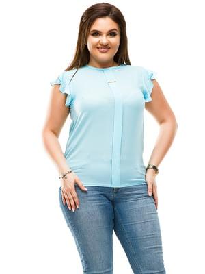 Блуза голубая | 4613951