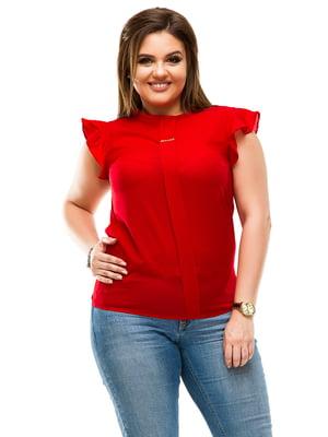 Блуза червона | 4613953
