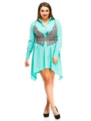 Сукня м'ятного кольору | 4613979