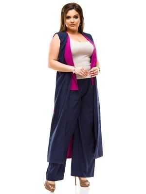 Костюм: жилет и брюки | 4614099