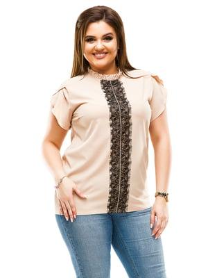 Блуза бежева | 4614100