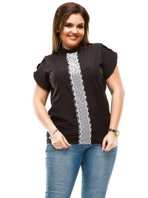 Блуза черная | 4614104