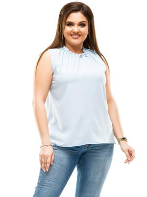 Блуза голубая | 4614111