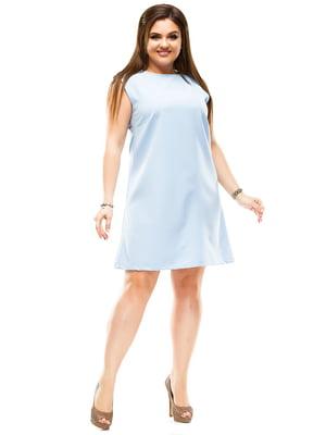 Платье голубое | 4614119