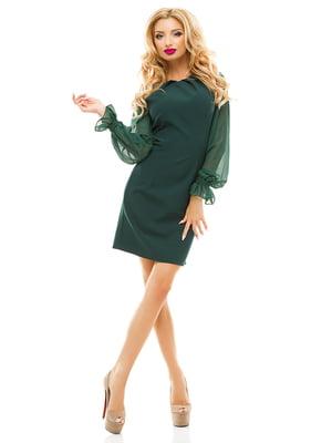 Сукня темно-зелена | 2635012