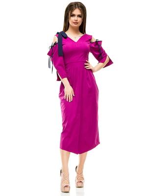 Платье цвета фуксии | 4613496