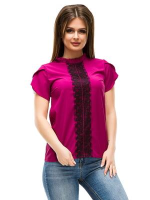 Блуза кольору фуксії | 4613512
