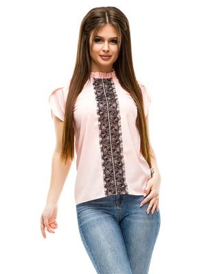 Блуза кольору пудри   4613516