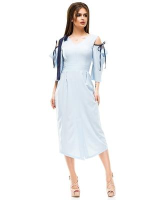 Сукня блакитна | 4613527