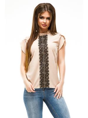 Блуза бежевая | 4613532